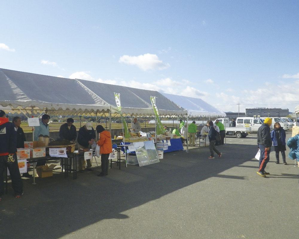 京都やましろ農協井手町支店直売所「なごやか市」年末フェア