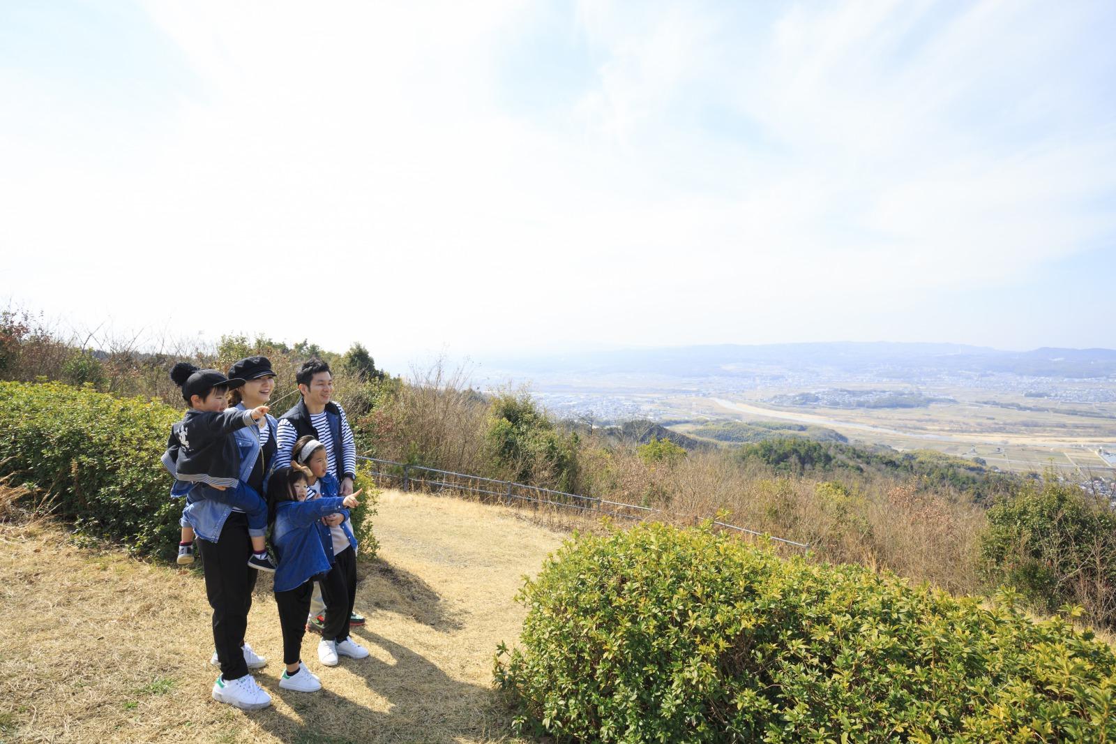 木津川を見下ろす大パノラマ