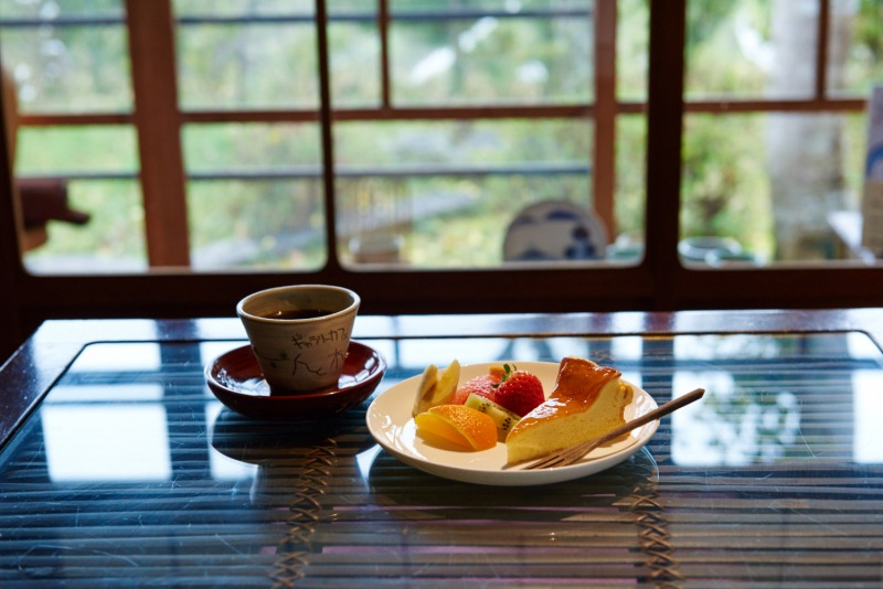 日本家屋の隠れ家的カフェ