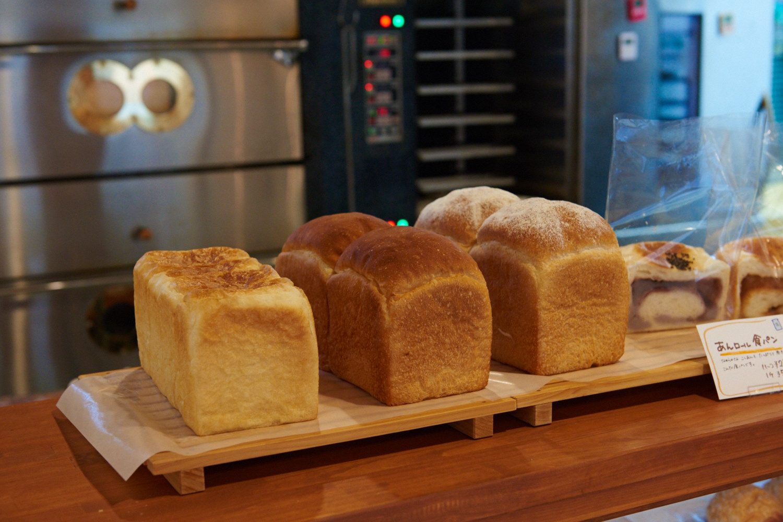 3種の食パンが人気