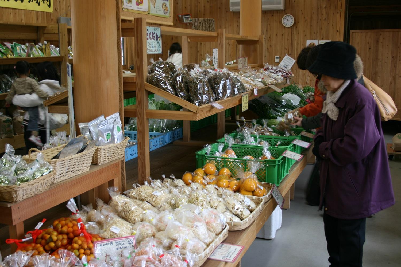 南山城村農林産物直売所