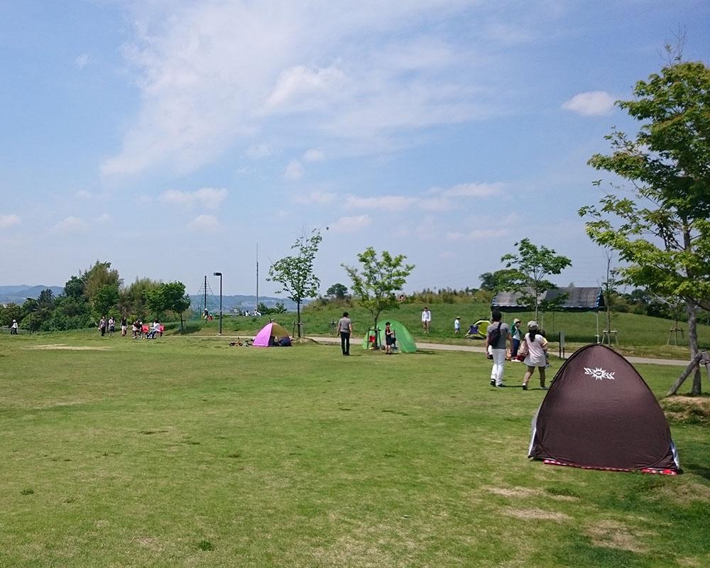 京都府立木津川運動公園 城陽五里五里の丘