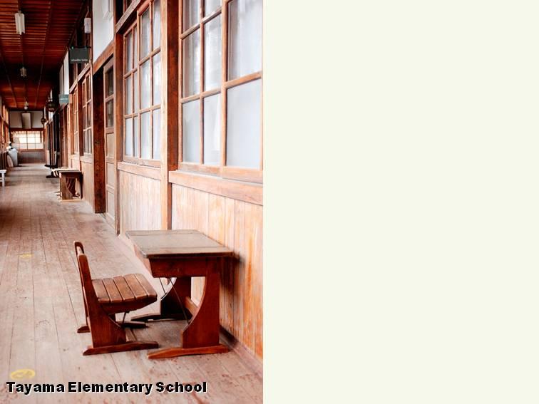 旧田山小学校のcafeと工房「は・ど・る」