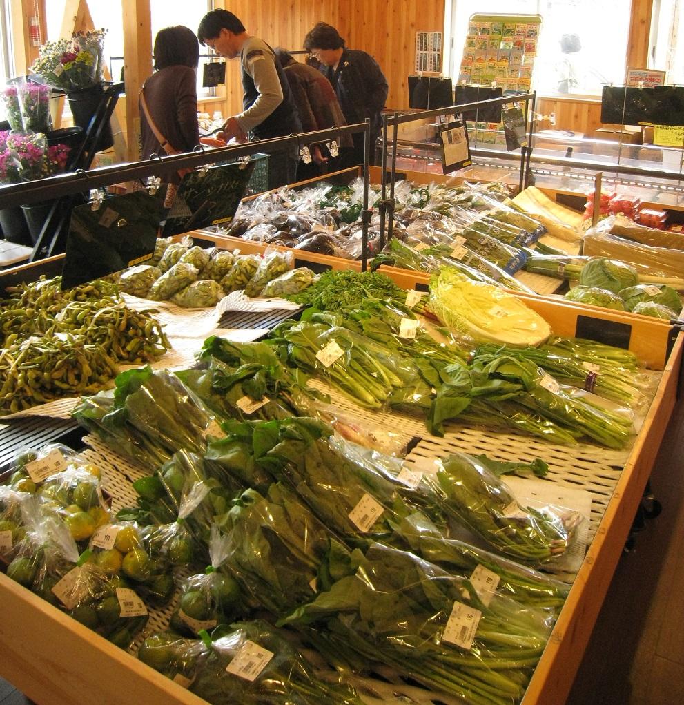 JA京都やましろ農産物直売所井手町店「なごやか市」