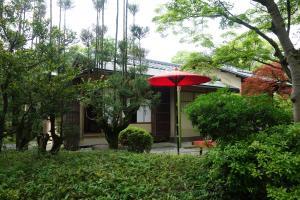 松花堂庭園:竹隠(外観)