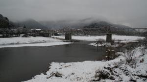 冬の木津川